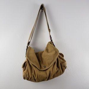 Fossil Canvas Shoulder Bag